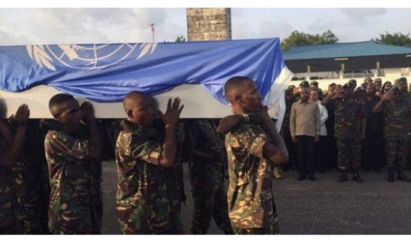 Miili ya wanajeshi waliouawa DRC yarejeshwa Tanzania