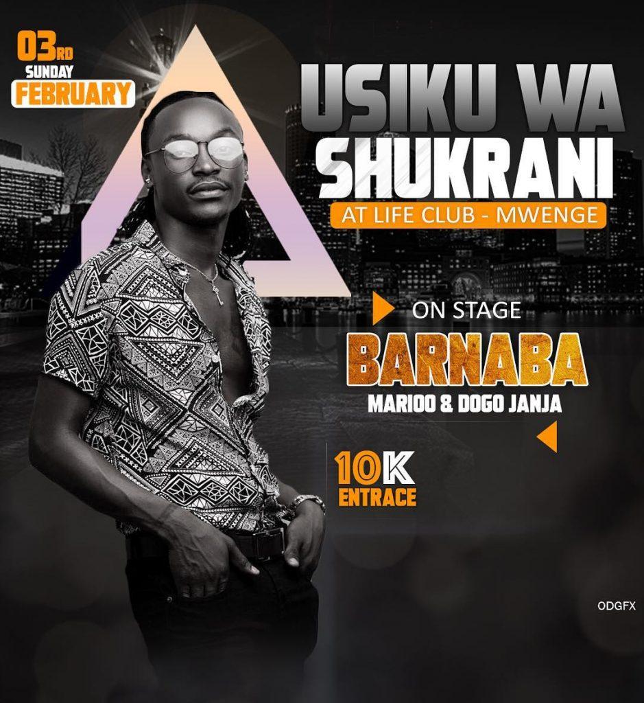 UsikuWashukrani 939x1024 Barnaba Usiku wa shukrani