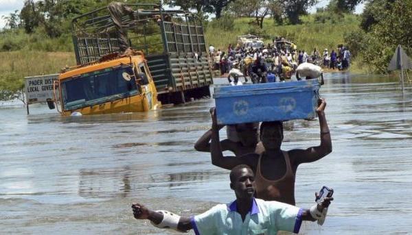 Mvua zinazo nyesha Uganda wilayani Bundibugyo yauwa watu 12.